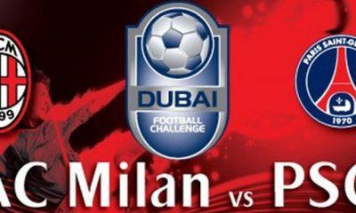 Milan-PSG : les compos