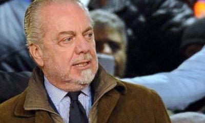 """De Laurentiis """"Je n'ai jamais appelé Cavani"""", car le PSG a fermé la porte"""
