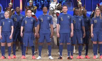 Vidéo : le nouveau maillot des Bleus