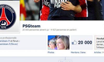 Vous êtes plus de 20 000 sur Facebook !