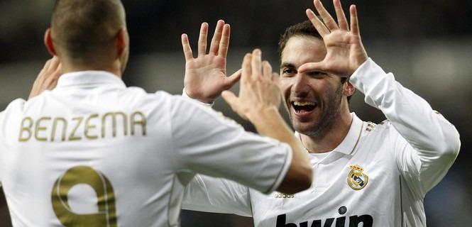 Benzema : « J'espère qu'Higuain restera »