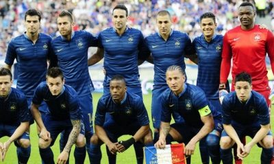 France - Angleterre : les compos