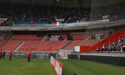 Moins de supporters visiteurs au Parc ?