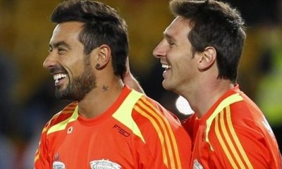 Lavezzi buteur avec les amis de Messi
