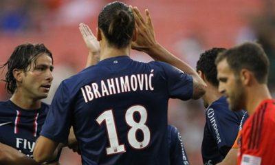 Vidéo : le premier but d'Ibra au PSG !