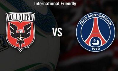 DC United - PSG : les compos