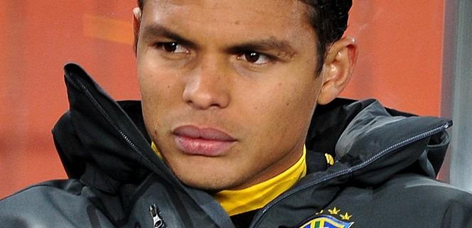 Thiago Silva est au Camp des Loges