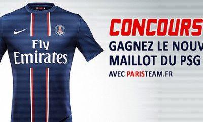Paristeam vous offre un maillot du PSG