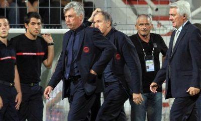 Dupont souhaite la bienvenue à Ancelotti