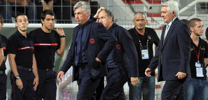 Deux matches avec sursis pour Ancelotti
