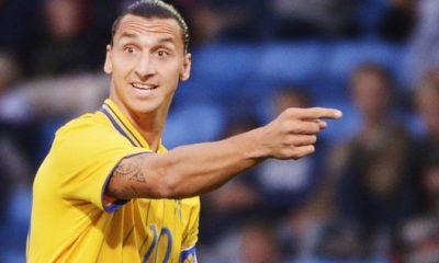Ibrahimovic passeur décisif avec la Suède