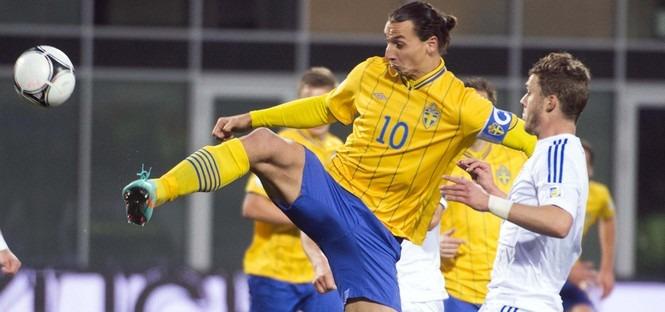 """Ibrahimovic s'entraîne à nouveau, possible """"joker"""" demain soir lors de Suède - Autriche"""