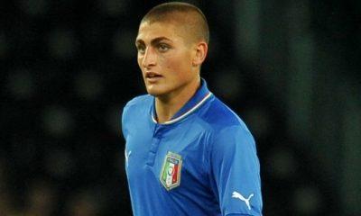 Verratti convoqué avec les espoirs italiens