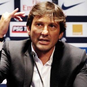 L'OL penserait à Leonardo comme entraîneur, selon L'Equipe