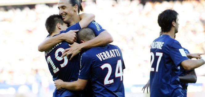 L1 : Gameiro et Verratti dans l'équipe-type !