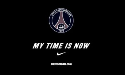 Video : PSG Nike « My time is now »