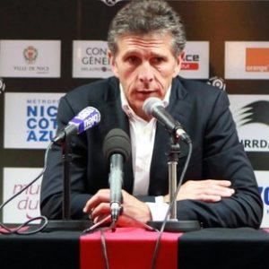 """Nice / PSG - Puel """"on ne peut pas que défendre face au PSG, ça serait suicidaire"""