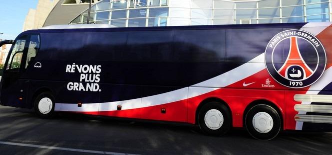 Le PSG se blinde pour les transports