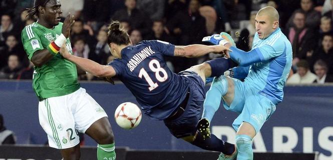 """Ruffier """"ce n'était pas Paris-Sainté, c'était Ruffier contre Zlatan"""""""