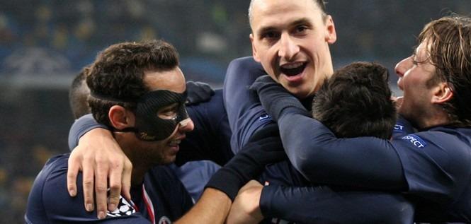 5 Parisiens dans le onze 2012 de L'Equipe