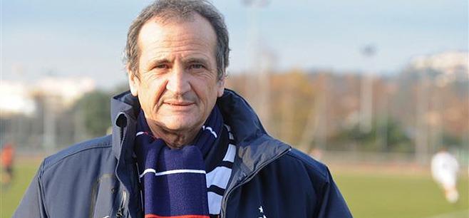 F : Bruno Bini présent lors de PSG - Montpellier
