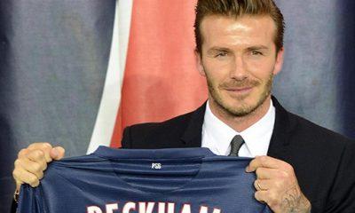 Beckham s'entraîne à Londres