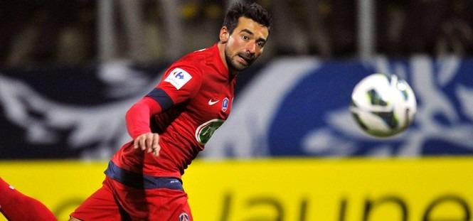 Arras - PSG : Lavezzi élu homme du match