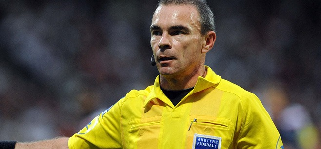 Lionel Jaffredo au sifflet pour Evian - Bordeaux