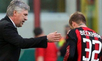 Ancelotti: «Beckham peut jouer à droite»