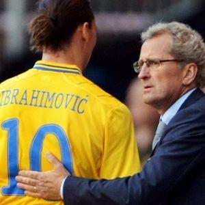 """""""Il ne serait pas correct que Zlatan se rende à Manchester pendant l'Euro"""" selon le sélectionneur suédois"""