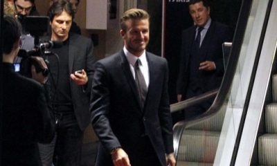 La famille de Beckham est à Paris