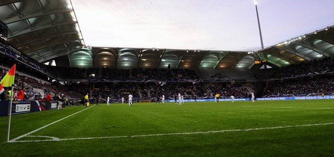 Auguste Delaune  / stade de Reims