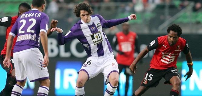 L1 : Avec Rabiot, Toulouse perd à Rennes