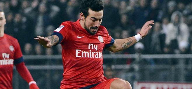 L'agent de Lavezzi balaie la rumeur AC Milan