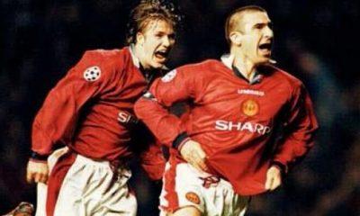 Cantona : « Beckham est un grand pro »