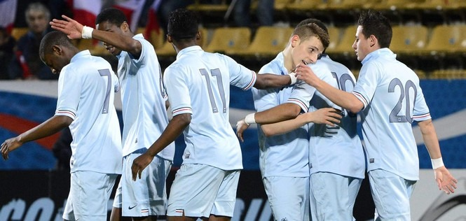EDF : Areola et les U20 brillants face au Danemark