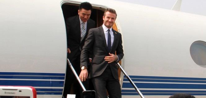 Beckham provoque des émeutes en Chine (vidéo)