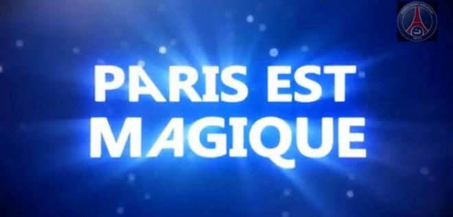 Le Psg Sort Son Clip 171 Paris Est Magique