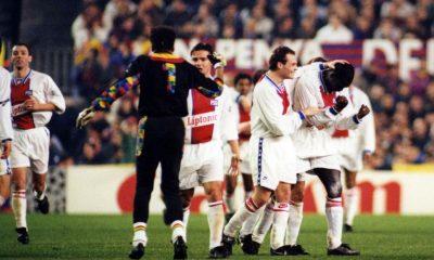 Retro : Les PSG - Barcelone en images