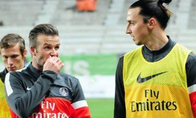 Beckham : « Zlatan, l'un des meilleurs avec qui j'ai pu jouer »