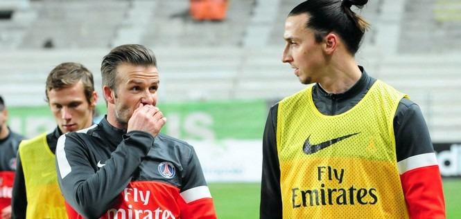 Beckham voudrait Ibrahimovic, Motta et Areola dans sa franchise