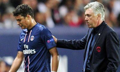 Même sans Ancelotti, Thiago Silva restera au PSG