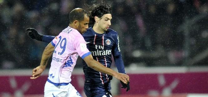 Evian - PSG : Pastore élu homme du match !