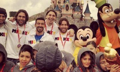 Les Parisiens à Disneyland en vidéo