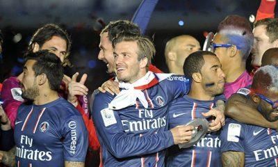 Sakho, Ibra et Matuidi remercient Beckham