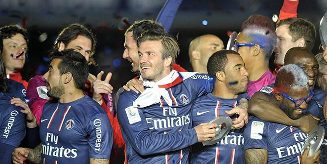 """Douchez """"le passage au PSG de David Beckham n'a été réduit qu'à un coup marketing"""""""