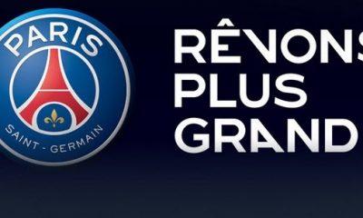 Le PSG lance officiellement son nouveau logo !