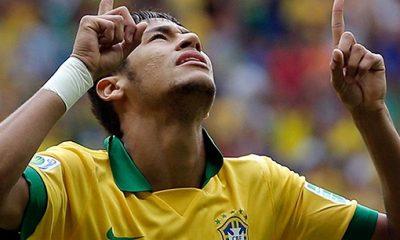 Quand Lugano se fait malmener par Neymar !