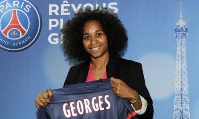 Georges : « Heureuse d'écrire une page avec le PSG »
