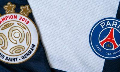 """Un logo spécial """"champions de France"""" pour le PSG"""